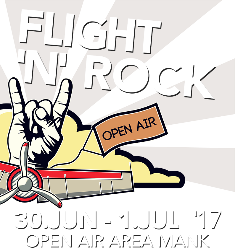 Flight'N'Rock Festival vom 30. Juni bis 1. Juli in der Open Air Area Mank